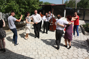 Ensemble from Gherla town
